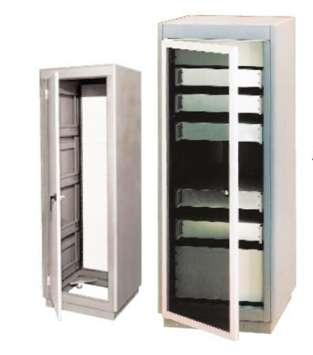 BUD 30-2304-GT BUD Large Cabinet Rack 69.87 x 24.06 x 22.00 (In) with Grey Texture Finish (Series Image)