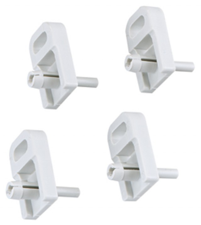 Altech 154-006 Mounting Tabs Enables enclosure to be surface mounted. 1 set = 4 mounting tabs Metal (Product Image)