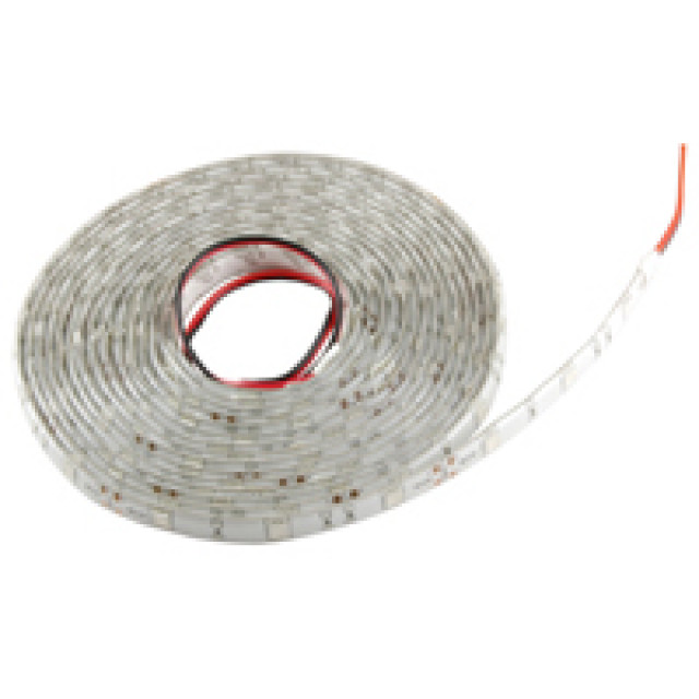 NTE 69-53B-WR LED STRIP FLEXIBLE BLUE 16.4 FOOT REEL(5M) 150 LEDS WATER RESISTANT(IP65) LED SIZE 5050 12VDC 36W (Product Image)