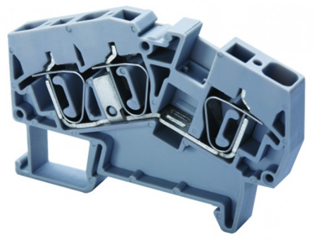 Altech ADL2.5 Angular Feed-Through Spring Clamp 5 mm (Product Image)