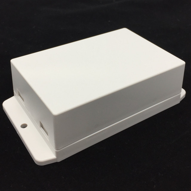 BUD CU-18428-W UTILITY BOX, SNAP COVER, WHITE (Product Image)