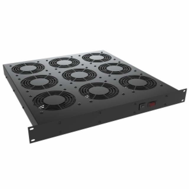 Hammond Mfg. FT600TA1220BK Hammond FT600TA1220BK 600CFM 230V NO SWITCH AND IEC rack (Product Image)