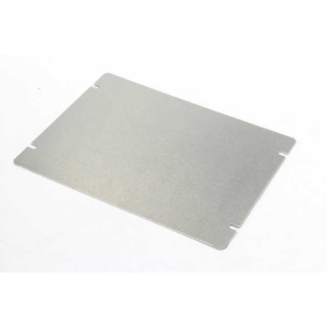 Hammond Mfg. 1434-86 Bottom plate (8 x 6 inches) for aluminum chassis (Product Image)