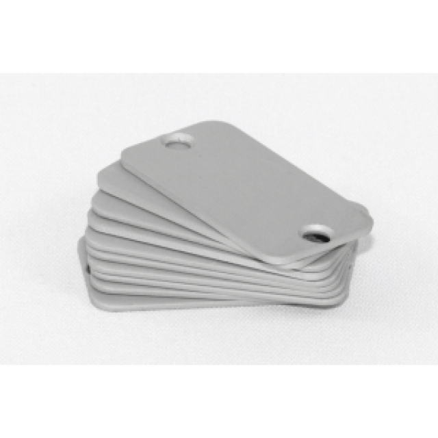 Hammond Mfg. 1455DAL-10 Hammond aluminum end panels for 1455D enclosures - 10/pack Part Number 1455DAL-10 [UPC 62398048373 ] (Product Image)