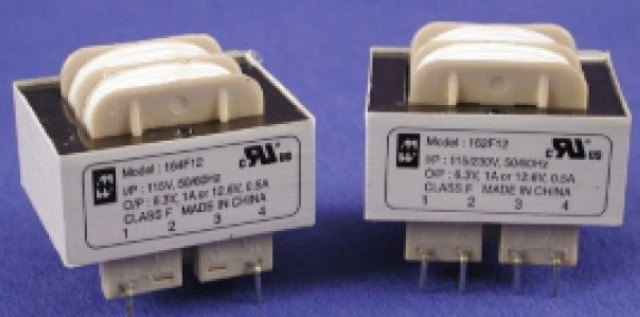 Hammond Mfg. 164E120 Hammond 115V Single Primary - 2.4VA - 120V C.T. @ .02A Secondary (RMS) Low Voltage PCB Low Profile Transformer (Product Image)