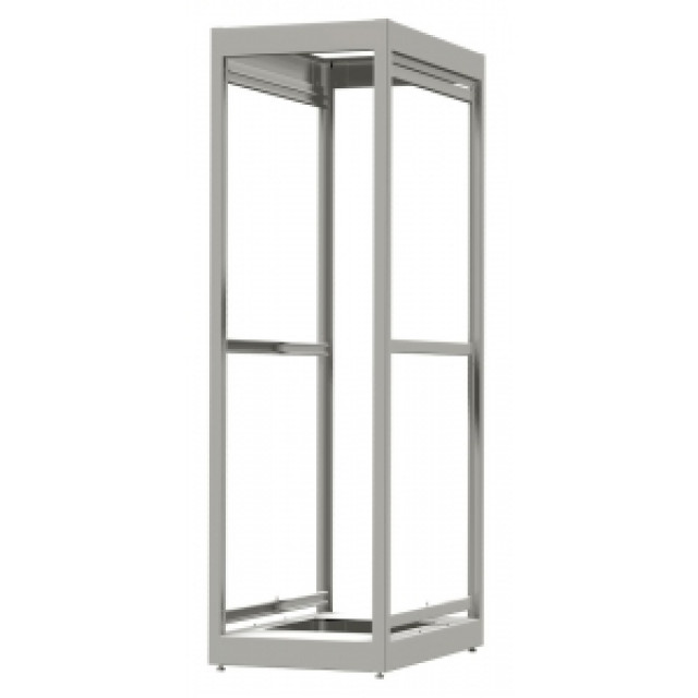 Hammond Mfg. C2F194236LG1 Hammond C2F194236LG1 24U 50.16 x 23.00 x 36.00 14 gauge steel Modular Equipment Storage Rack rated for 1,500 Lbs (Product Image)