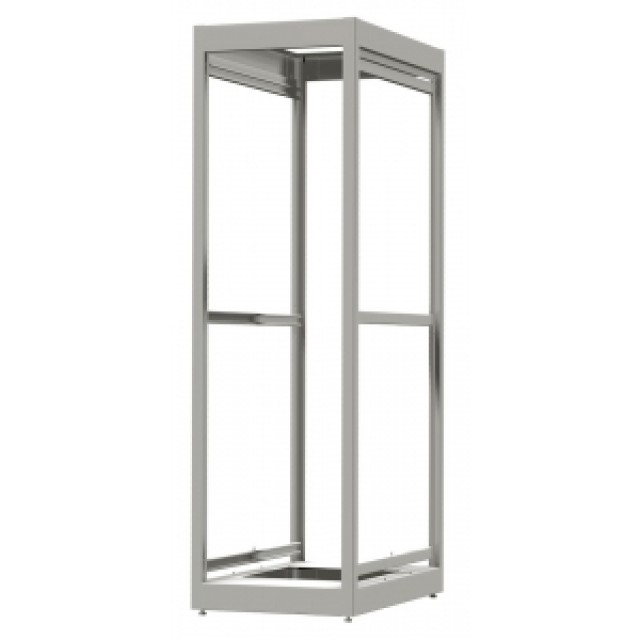 Hammond Mfg. C2F195623BK1 Hammond C2F195623BK1 32U 64.16 x 23.00 x 23.62 14 gauge steel Modular Equipment Storage Rack rated for 1,500 Lbs (Product Image)