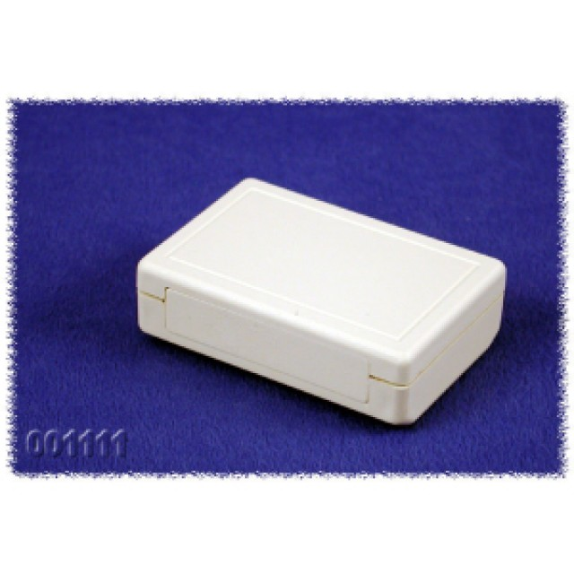 "Hammond Mfg. 001111 enclosure - grey ABS , front panel, (1.57"" x2.36"" x0.73"") (Product Image)"