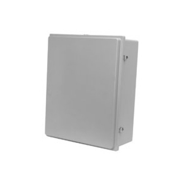 Hammond Mfg. PJ1084RLW Hammond (10.13 x 8.26 x 4.13) Type 4X Polyester Junction Box With Raised Lid with Window Cover (Product Image)