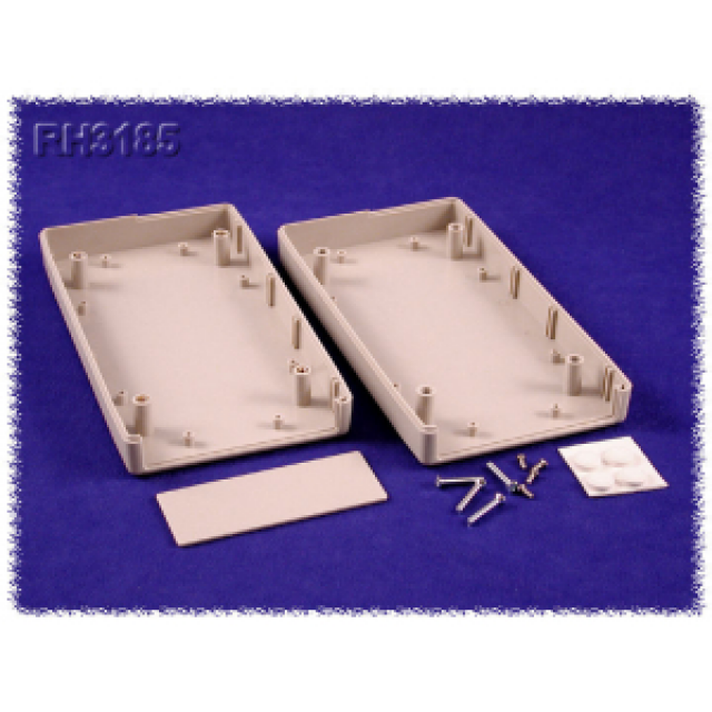 "Hammond Mfg. RH3185 enclosure - plastic (7.28"" x5.31"" x1.57"") (Product Image)"