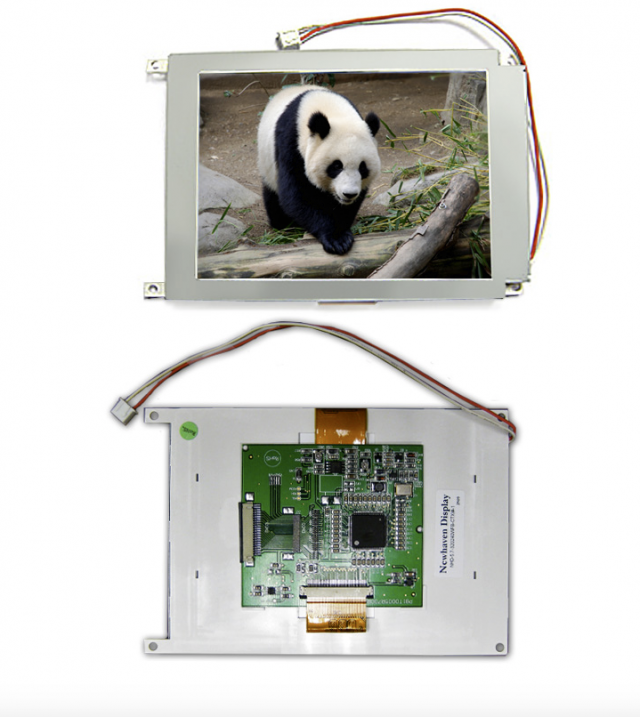 Newhaven NHD-5.7-320240WFB-CTXI #-1 Newhaven 320 x 240 Pixels Transmissive LCD TFT Using 8-Bit Parallel Interface and 20 pin Connector. (Product Image)