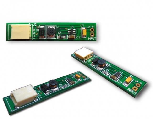 Newhaven Display NHD-5.7F-LED Driver Newhaven   LED Driver for NHD-5.7-640480WF TFT @ 3.3~5.0V and  Interface with  Connector and HA7101 Controller. PN - NHD-5.7F-LED Driver (Product Image)
