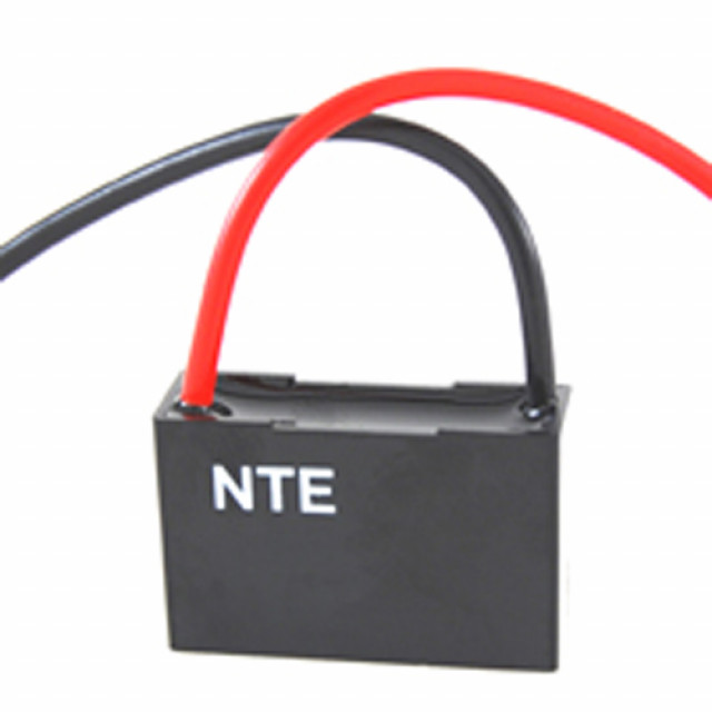 NTE CFC-2.5 CAPACITOR CEILING FAN 2.5UFD 125/250VAC 2 WIRE (Product Image)