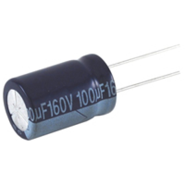 NTE NEVH4.7M450CD CAPACITOR ALUMINUM ELECTROLYTIC 4.7UF 450V 20% RADIAL LEAD (Product Image)