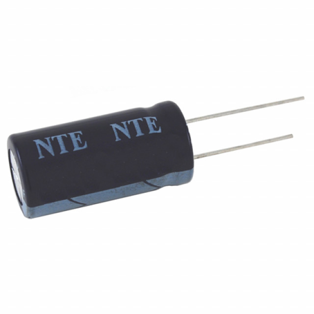 NTE VHT1M450 CAPACITOR HIGH TEMPERATURE ALUMINUM ELECTROLYTIC 1UF 450V 20% 105 DEGREE C RADIAL LEAD (Product Image)