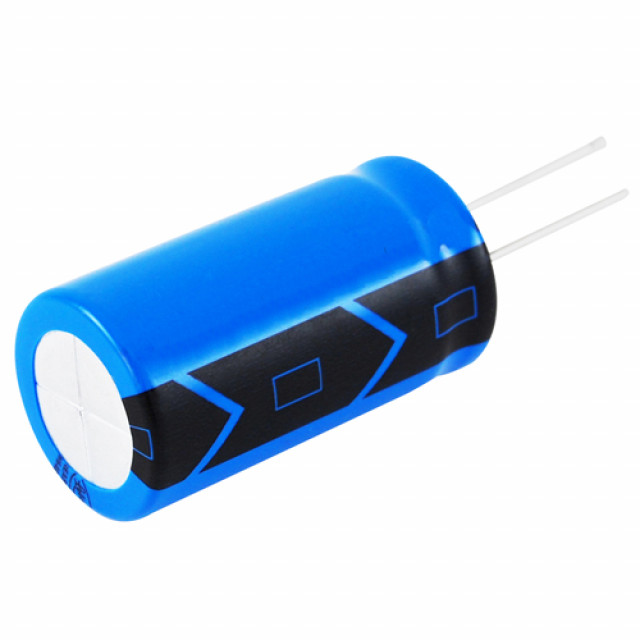 NTE NEV.47M63AA CAPACITOR ALUMINUM ELECTROLYTIC .47UF 63V 20% RADIAL LEAD (Product Image)