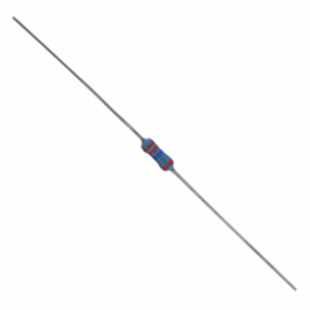 NTE QW447-25 Resistor Metal Film Flameproof 1/4W 470K Ohm 2% Axial Lead 25/pkg (Product Image)