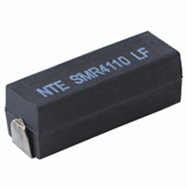 NTE SMR2D10 NTE RESISTOR 2 WATT SURFACE MOUNT POWER WIREWOUND 0.10 OHM 5% WRAP AROUND SOLDERABLE TERMINALS Part Number SMR2D10 (Product Image)