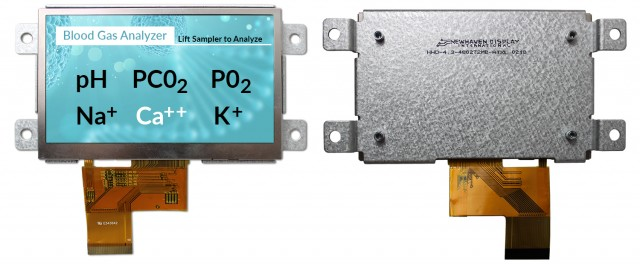 Newhaven NHD-4.3-480272MB-ATXL Newhaven 480 x 272 Pixels Transmissive 4.3(Inch) Mountable Standard TFT @ 3.3V and 24-Bit RGB  Interface with 40 pin Connector and None Controller. PN - NHD-4.3-480272MB-ATXL (Product Image)
