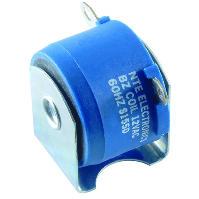 NTE RB-12 BUZZER-12VAC SINGLE SCREW MOUNTING 74 DBA AT 1.0 METERS WITH .187 SOLDER LUGS (Product Image)
