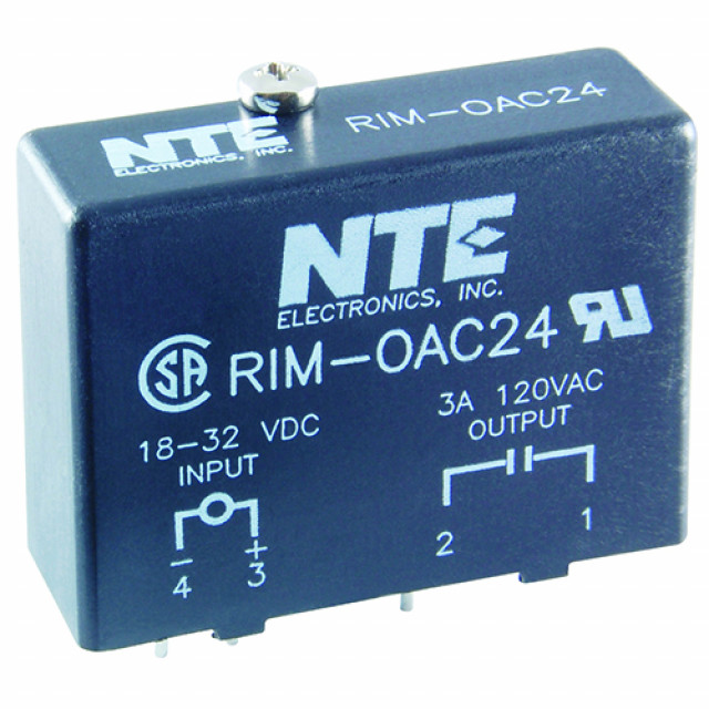 NTE RIM-ODC15 OUTPUT DIGITAL MODULE 15VDC INPUT 5-48 VDC OUTPUT INDUSTRY STANDARD PACKAGE (Product Image)