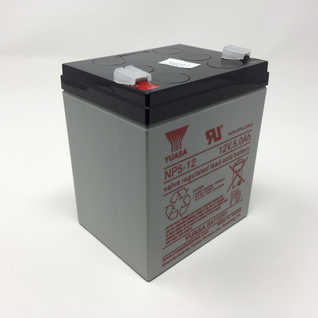 YUASA BATTERY NP5-12 Yuasa Brand (OEM) 12 Volt 5 Ah  Battery. Size (0 x 0 x 0) with  Terminals. - NP5-12 (Product Image)
