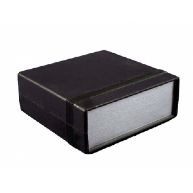 "Hammond Mfg. 1598ASGY enclosure - plastic (6.10"" x3.60"" x1.40"") (Product Image)"