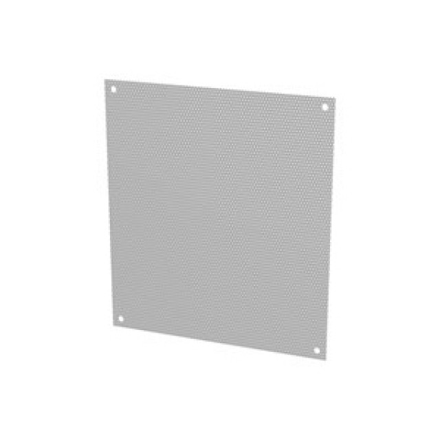 Hammond Mfg. 18P2727PP Hammond Perf Panel 27 x 27 - Fits Encl. 30 x 30 - Steel/Gray Part Number 18P2727PP [UPC 62398080232 ] (Product Image)
