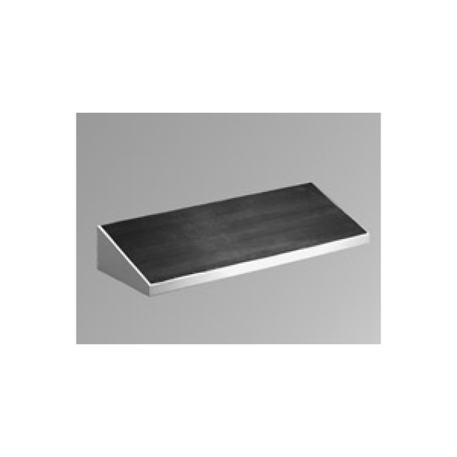 "Hammond Mfg. 2CLF24 Hammond Foot Rest - For 24"" wide - Steel/Lt Gray Part Number 2CLF24 [UPC 62398084708 ] (Product Image)"