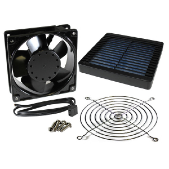 Hammond Mfg. DNFF150BK115 Hammond DNFF150BK115 FAN & FILTER KIT, 150mm, BLACK product (Product Image)