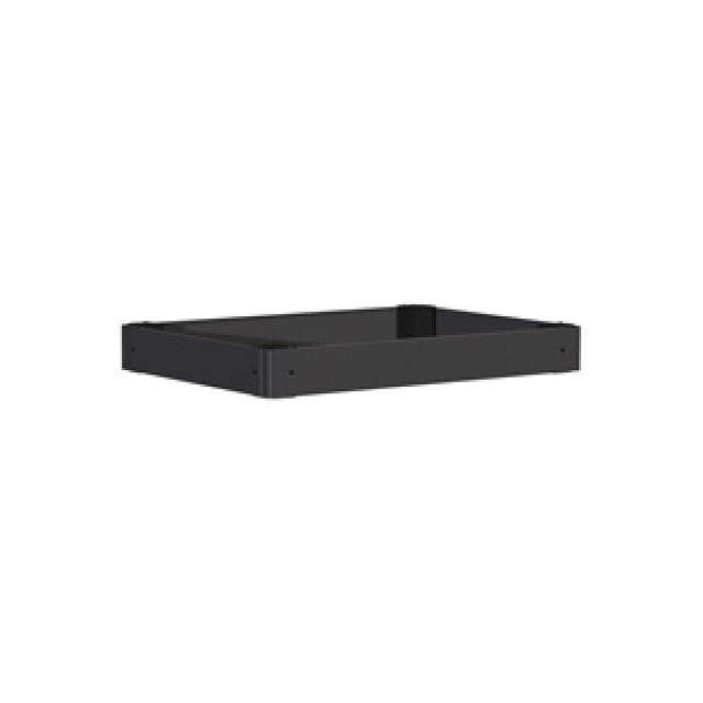 Hammond Mfg. HPB165 Plinth Base Solid 100mm - Fits 600W x 500D - Steel/Black (Product Image)