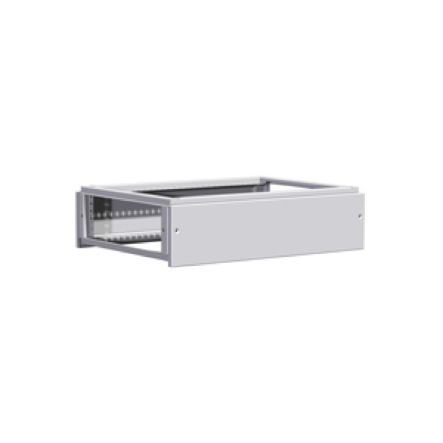 Hammond Mfg. HTCM66 Top Cabling Module 200mm - Fits - 600W x 600D - Steel/Lt Gray (Product Image)
