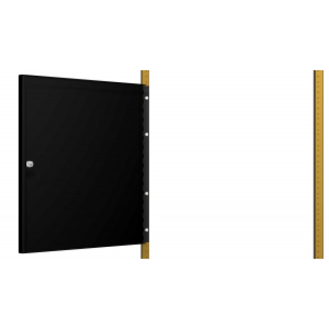 Hammond Mfg. RSDP19012LG2 Hammond RSDP19012LG2 PANEL RAIL MOUNTED DOOR rack (Product Image)