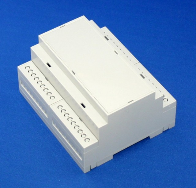 BUD DB-4715 DIN RAIL/PANEL MOUNT BOX (Series Image)