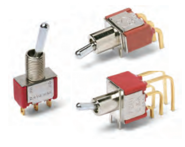 C&K 7103LDZ3QE C&K Series-7000 Toggle Switch 7103LDZ3QE (Series Image)