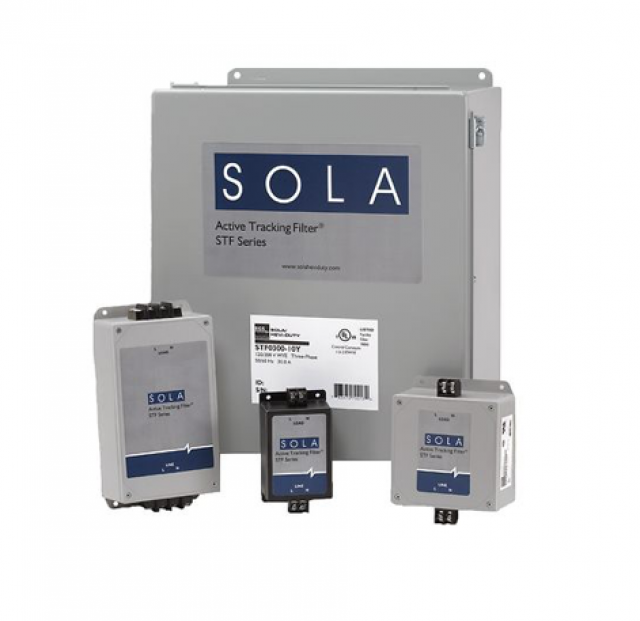 Sola HD STF100027Y ACT TRAC FILTER 100A 480V Y 3P NAED# 78347270025 (Series Image)
