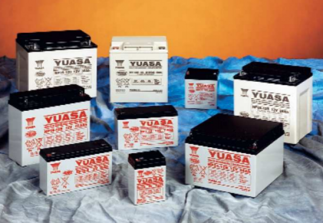 YUASA BATTERY NP7-12FR Yuasa NP Series 12 Volt - 7.0(Ah) Sealed Rechargeable Lead- Acid Battery with 0.187 or 0.250 Faston Terminals. Overall Size 5.94 x 2.56 x 3.84 (LxWxH Inches) & 6.17 Lbs Each. (Series Image)