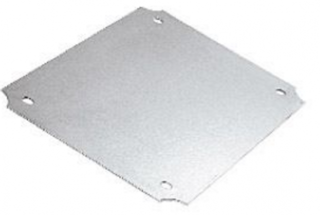 BUD PUX-16534 PU-16534 aluminum internal panel with DIms of (4.50 x 3.53 x 0.06) (Item Group Image)